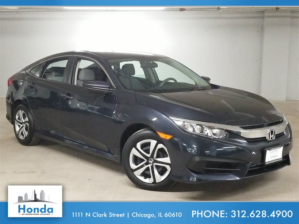 Honda Civic Certified Pre Owned >> Certified Pre Owned 2017 Honda Civic Lx Fwd 4d Sedan
