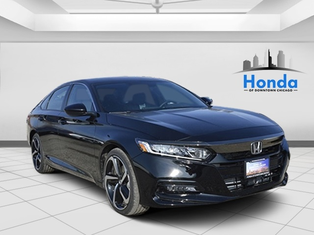 New 2019 Honda Accord Sport 4d Sedan In Chicago Hx019632 Of Downtown